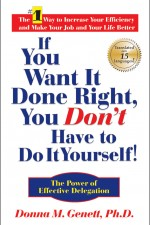 IF YOU WANT IT DONE RIGHT, YOU DON'T HAVE TO DO IT YOURSELF