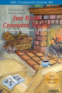 JUST RIGHT CROSSWORD PUZZLES, COLLECTION OF 2 (Vol. 3 & 4)