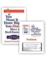 IF YOU WANT IT DONE RIGHT, HARDCOVER BOOK AND WORDBOOK