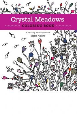 Crystal Meadows Coloring Book