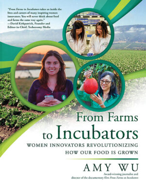 "Special offer for CWA members for ""Farms to Incubators"" by Amy Wu"
