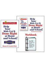 HELP YOUR KIDS GET IT DONE RIGHT HARDCOVER BOOK AND WORKBOOK FOR PARENTS