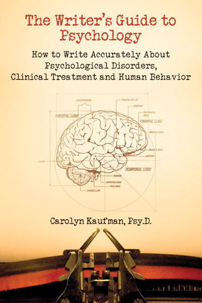 WRITER'S GUIDE TO PSYCHOLOGY