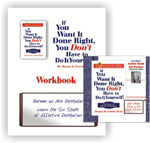 IF YOU WANT IT DONE RIGHT, AUDIO CD AND WORDBOOK
